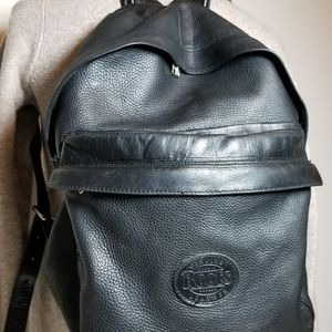 Vintage Roots Leather Backpack Black for Sale in Seattle, WA
