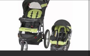 Baby trend jogging stroller with car seat and three bases for Sale in Salinas, CA