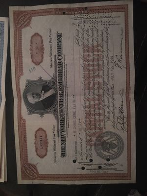 1944 Stock Bond for Sale in Richmond, KY