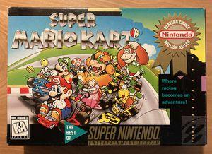 SNES Super Mario Kart for Sale in Hartford, CT