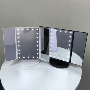 """(New In Box) $20 each Tri-fold LED Vanity Makeup 13.5""""x9.5"""" Beauty Mirror Touch Screen Light up Magnifying for Sale in La Habra Heights, CA"""