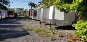 All sizes and different colors brand new enclosed cargo trailer for Sale in Miami, FL