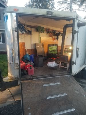 4 place snowmobile trailer for Sale in Puyallup, WA