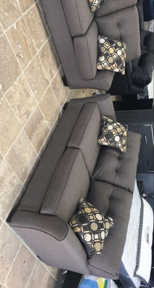 🍻New Ashley Slate Living Room Set / Couches☆Sofa & Loveseat included☆Chair and Chaise sold separately💥39 DOWN PAYMENT🍻 for Sale in Houston, TX
