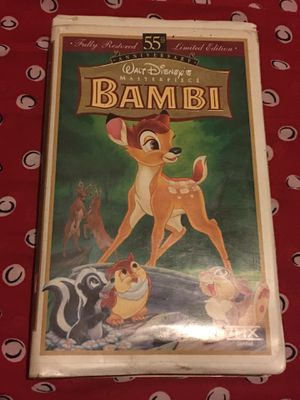 Bambi VHS for Sale in Montclair, CA