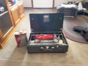 Coleman camping stove 2-Burner for Sale in Joplin, MO