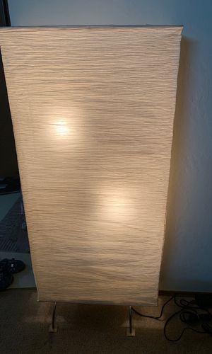 IKEA Rice Paper Floor Lamp for Sale in San Leandro, CA