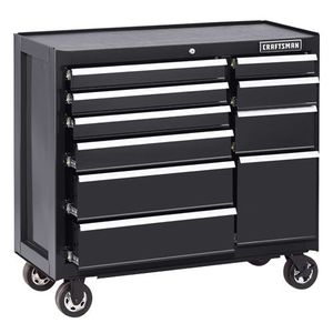 "Craftsman 41"" 10 drawer USED toolbox for Sale in Quincy, IL"