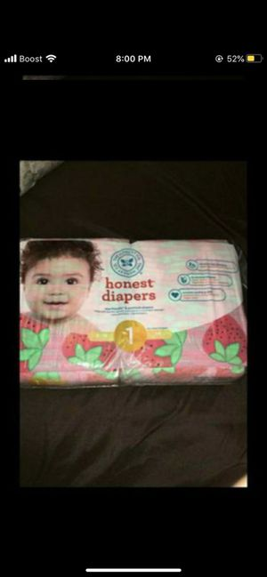 Baby diaper honest brand for Sale in Los Angeles, CA