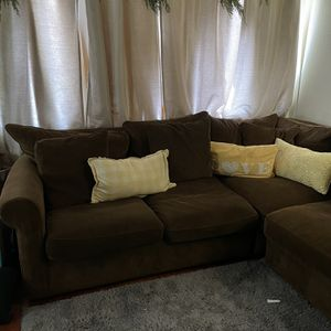 Brown Sectional From Macy's for Sale in Carson, CA