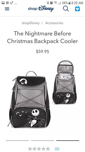 Nightmare before Christmas backpack for Sale in Parlier, CA