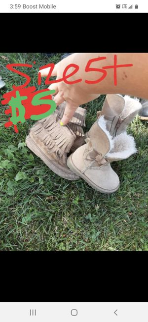 Girls 5t boots good condition for Sale in Saint Thomas, PA