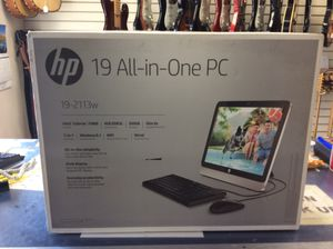 "HP all in one 19"" computer for Sale in San Carlos, AZ"