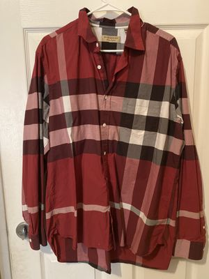 Burberry men's dress shirt 👔 for sale for Sale in Turlock, CA
