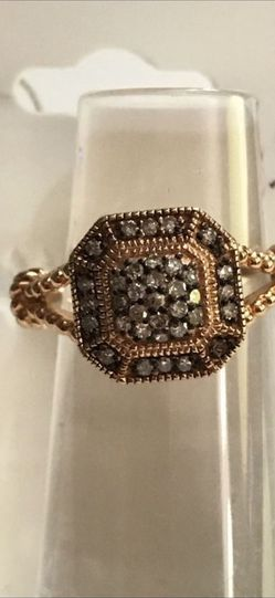 Savvy Cie Rose Gold Vermeil .25 Ct Diamond Ring 5 for Sale in Washington,  DC