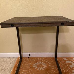 Couch side Table/ TV Tray, L-Shape Lap Desk for Sale in San Diego, CA
