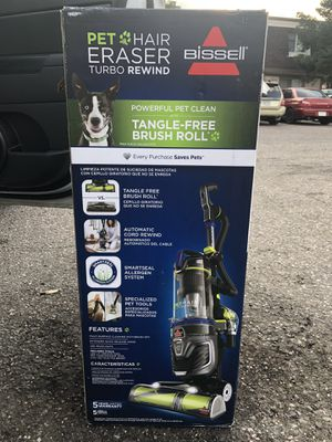Brand New Bissell Pet Hair Eraser Vacuum for Sale in Lakewood, CO