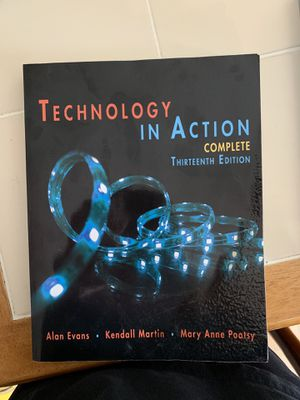 Technology in action textbook for Sale in Warrenton, VA