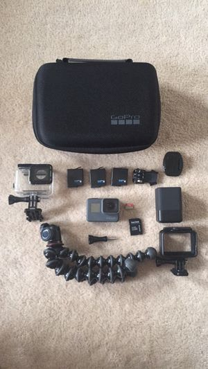 GoPro Hero 6 with accessories for Sale in Sterling, VA