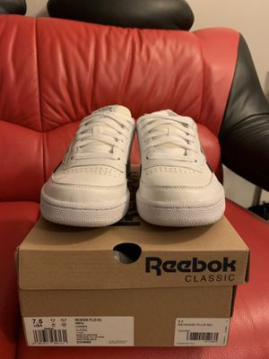 Men's ...Reebok club c revenge plus ... brand new 7.5 for Sale in Colma, CA