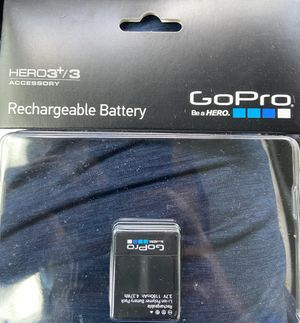 Rechargeable battery GoPro Hero 3+ for Sale in Alafaya, FL