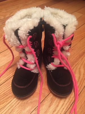 Carters girls size 6 boots for Sale in Slingerlands, NY
