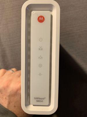 Motorola SB6141 Cable Modem for Sale in Covington, WA