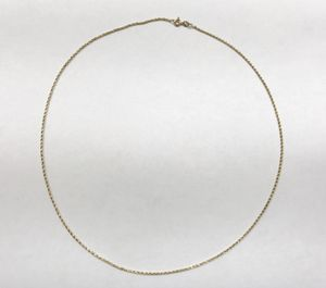 "14k Yellow Gold Unisex Rope Chain 20"" $229.99 for Sale in Tampa, FL"