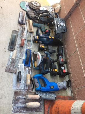 Miscellaneous items and power tools all $60 for Sale in Santa Ana, CA