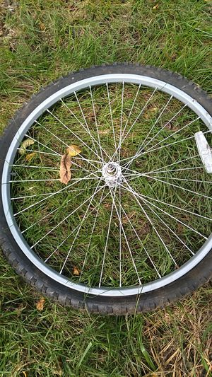 Mountain bike wheel and tire for Sale in Boonsboro, MD