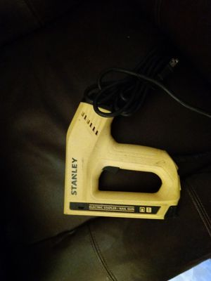 Stanley Electric stapler/ nail gun for Sale in Anderson, SC