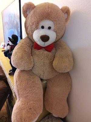 Giant Brand New Teddy Bear Great for Valentines gift! for Sale in Victorville, CA