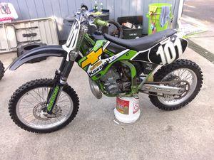 2000 Kawasaki KX250(trade for camper) for Sale in Washougal, WA