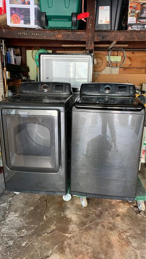 Samsung black washer and dryer for Sale in Queens, NY