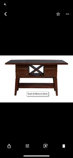 Kitchen table with wine storage for Sale in Concord, NC