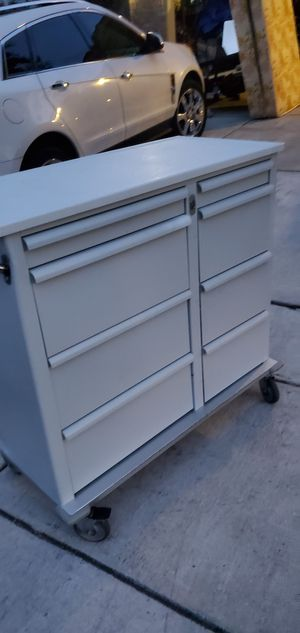 Selling my med carts can use them for tools storage or anything else comes with a key for Sale in San Antonio, TX