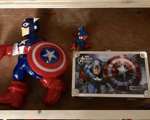 Captain America Action Figure And More for Sale in Fair Oaks, CA