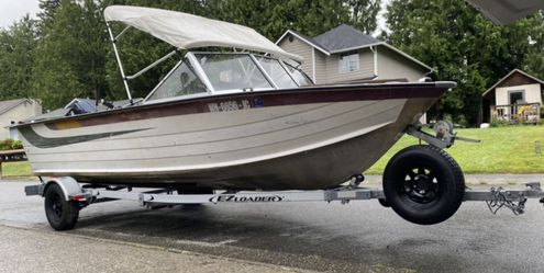 1978 Starcraft Holiday 18, aluminum boat for Sale in Everett,  WA