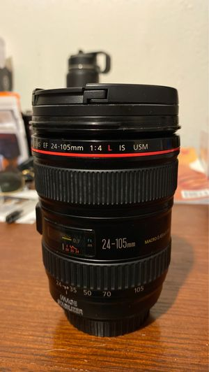 Canon 24-105 f/4 lense for Sale in Azusa, CA