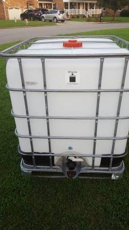 "250 gallon water tank ""Clean"" for Sale in Chesapeake, VA"