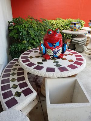Concrete table with 3 benches for Sale in Pompano Beach, FL