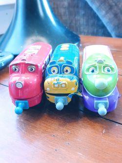 "3 ""Chuggington"" Die Cast Trains for Sale in Peoria,  IL"