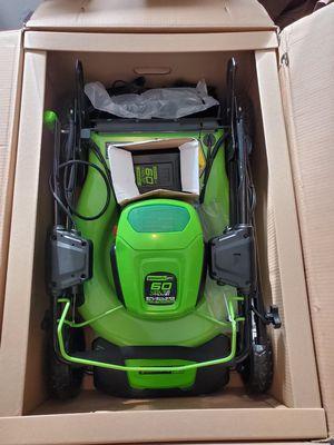"Greenworks 21"" self propelled mower for Sale in Canton, GA"