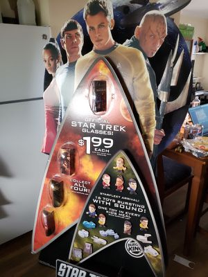 Collectable 2009 Star Trek Burger King Display for Sale in Castro Valley, CA