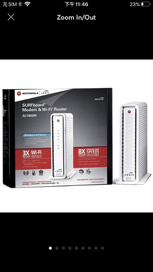 Modem &wifi Router AC1800M for Sale in Jersey City, NJ