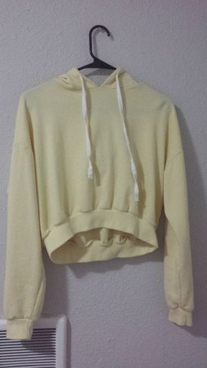 Yellow crop top hoodie for Sale in Federal Way, WA