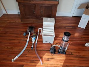Aquarium filter setup for 100+ gallon tank for Sale in WLKS BARR Township, PA
