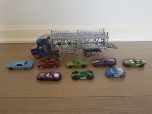 Toy cars and a truck for Sale in Arlington, VA