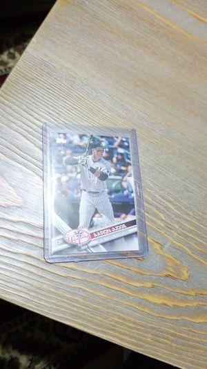 Baseball card- Aaron judge rc update for Sale in Roseburg, OR
