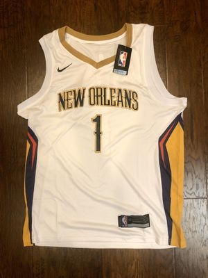 Brand New Zion Williamson New Orleans Pelicans Nike Jersey - Size 50 (Large) - 2019 #1 Draft Pick 🏀 for Sale in Huntington Beach, CA